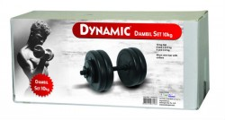 Dynamic - Dynamıc Vinly Dumbell Set 10 Kg