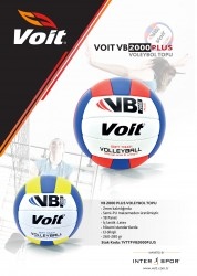 Voit - Voit VB2000 Plus Voleybol Topu No 5