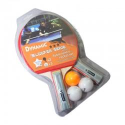 Dynamic - Dynamic 8500D Pinpon Raketi 2 Raket 3 Top Set-