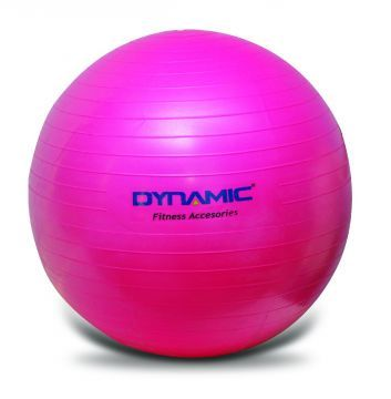 Dynamic Gymball Pilates Topu 55 Cm Fuşya