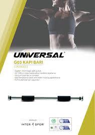 Universal Kapı Barı 62-100 cm Arası Ayarlanabilir /1UNAKIG03-ÜCRETSİZ KARGO 1UNAKIG03