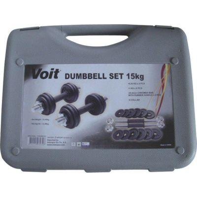 Voit 15 kg Döküm Dumbell Set
