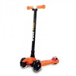 Voit - Voit 218 Işıklı Geniş 3 Teker Scooter- Turuncu