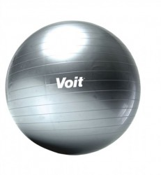 Voit - Voit 55 Cm Pilates Topu Gri + Pompa Hediyeli