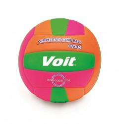 Voit - Voit CV304 Voleybol Topu No:5-Pembe-Yeşill-Turncu