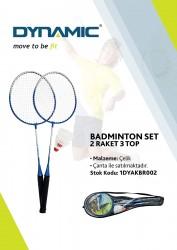 Dynamic - Dynamic 3 Top 2 Raket Badminton Seti - 1DYAKBR002