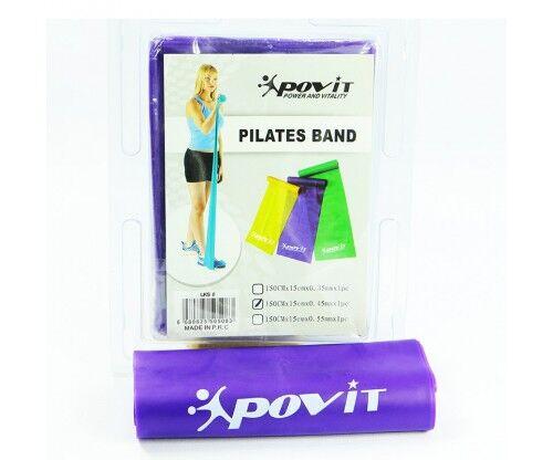 Povit - Povit Pilates Bandı (150 x 15 x 0,45mm)-MOR LKS08