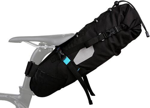 Roswheel - ROSWHEEL Suya Dayanıklı 10L Bisiklet Kuyruk Çantası - Siyah