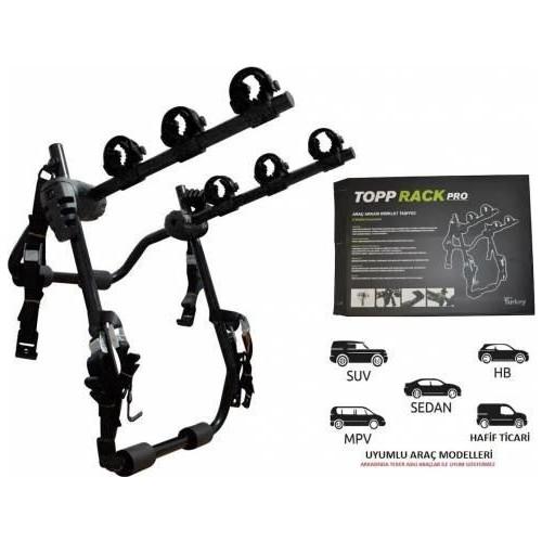 Pozitif - Topprack 3LÜ Bisiklet Taşıyıcı