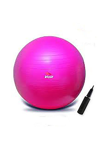 Voit - Voit 20Cm Pilates Topu Fuşya + Pompa Hediyeli