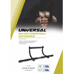 Universal - Universal Kapı Barfiksi Çok Fonsiyonlu Kapı Barfiksi-1UNAKIG04/N