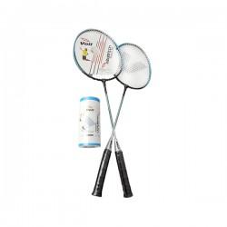 Voit - Voit 2 Raket 3 Top Badminton Mavi 1VTAKFK201A/034