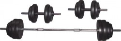 Voit - Voit 50 kg Vinly Kaplı Barbell Set