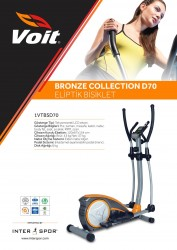 Voit - Voit D70 Bronze Collection Eliptik Bisiklet