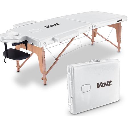 Voit - Voit Masaj Masası Beyaz -Çanta Tipi Kux Masaj Masası