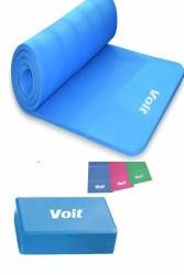 Voit - Voit Pilates Seti /3 Lü Set- Mavi