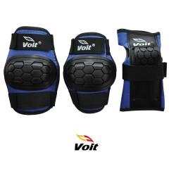 Voit - Voit PR122 Koruyucu Set Siyah Mavi (Large)